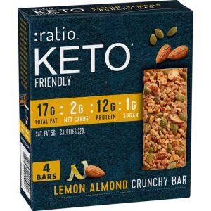 Image of Ratio Keto Granola Bars. Click to read more.